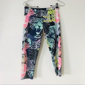 ‼️3/$20 Onzie cheetah face colorful leggings
